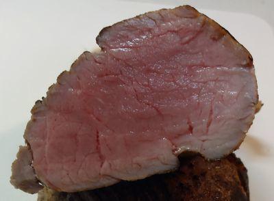 豚ヒレ肉の炙りミディアムレア料理 紹介 エースハンター猟師の徒然活動記録